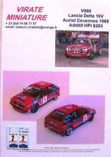 V060 LANCIA DELTA HF INTEGRALE 16V CRITERIUM DE LAS CEVENNES 1989 D.AURIOL
