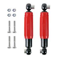 2x AL-KO Octagon Stoßdämpfer rot 1800 Kg für Wohnwagen und Anhänger