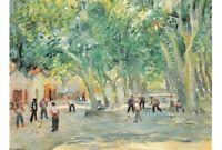 SAINT-TROPEZ - Charles Camoin - Place des Lices - Peinture