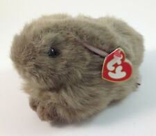 """TY Beanie Babies Nibbles Brown Rabbit 8 1/2"""" 1993"""