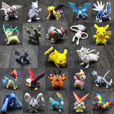Random -24pcs/set Pikachu Pokemon Mini Action Figure 2-3cm Pocket Monster Toys..