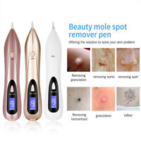 LCD Laser Freckle Removal Pen Machine Skin Mole Dark Spot Face Wart Tag Remover^