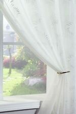 Rideau blanc avec des motifs Brodé pour la maison