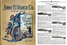 John B. Varick Co. 1934 Gun Catalog (Manchester, NH)