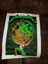 Metallica - Metlife Stadium Litho Poster # 323 / 550 , club,knob,glass