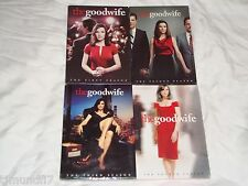 The Good Wife Seasons 1-4, 1 2 3 4, One Two Three Four, DVD, CBS, New & Sealed!
