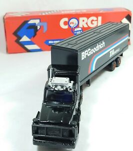 Corgi Juniors Die-Cast BF Goodrich Leyland Truck Boxed 1985 Lorry Made in the UK