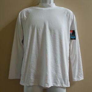 NWT DBX UPF 50+ Rash Guard Swim Shirt White Long Sleeve Youth XL