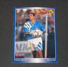 FABIEN BARTHEZ OM OLYMPIQUE MARSEILLE VELODROME PANINI FOOTBALL CARD 1995