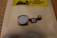iPhone 6 y 6 plus Casa completa botón de menú BLANCO /SILVER