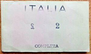 Serie Completa ( ITALIA 2 Lire Dal 1901 Al 1907 ) RIPRODUZIONE