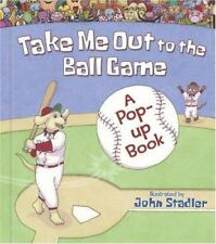 Take Me Out to the Ball Game: A Pop-up Book-ExLibrary