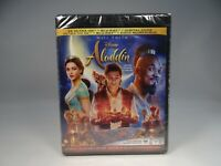 Disney's Aladdin (4K UHD, Blu-Ray, 2019)  *NEW READ DESCRIPTION*