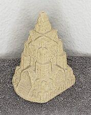 Vintage 1988 Sand Castle A Mr. sandman real sand sculpture paper weight decor