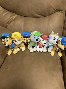 Paw Patrol stuffed animal Characters Plush Set  Of 7