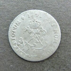 French Colonial, Louis XV, 1741 W Lille, Billon Sous Marques