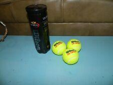 Official Wilson Us Open Extra Duty Tennis Balls (3) University of Memphis Tigers
