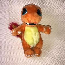 "Vintage Charmander Pokemon 1999 Nintendo Play by Play Plush 12"" Stuffed Animal"