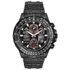 NEW Citizen JY0005-50E Eco-Drive Skyhawk A-T 46mm Case Black Stainless Watch