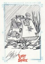 The Complete Lost in Space Rare Cris Bolson / Space Pod Sketch Card