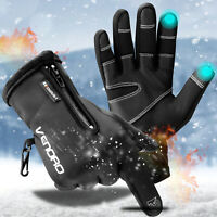 Thermal Winter Driving Hiking Gloves Touch Screen Warm Mittens For Men Women USA
