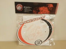 New Mongoose BMX Variety Pack...Racing Number Plate...Stickers...Decals...Bike