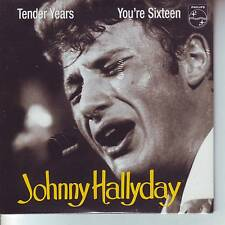 CD 2  titres JOHNNY HALLYDAY tender years et you're sixteen (en anglais) n°92