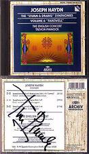 Trevor Pinnock SIGNED HAYDN SYMPHONY No. 45 FAREWELL 47 50 CD ARCHIVE Symphonies