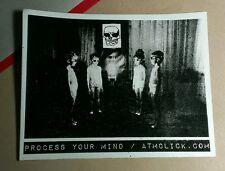 PROCESS YOUR MIND ATMCLICK . COM B&W MUSIC STICKER