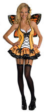 Sexy Halloween Adult Women's Butterfly Fairy Bug Costume Size Small