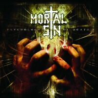 Mortal Sin Psychology Of Death CD Australian Thrash Metal New