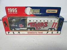 1995 Matchbox Team Transporters Minnesota Twins