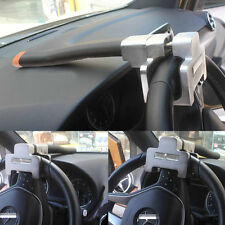 Vehicle Car Top Mount Steering Wheel Anti Theft Security Lock Devices With Keys