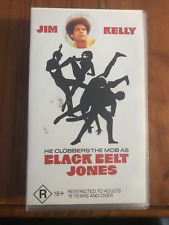 BLACK BELT JONES JIM KELLY GLORIA HENDRY ORIGINAL AS NEW RARE PAL VHS VIDEO