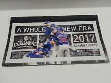 2017 Chicago Cubs Season Ticket Holder Envelope 2016 World Series Champs