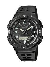 Casio Collection solar reloj hombre aq-s800w -1 bvef analógico, digital negro