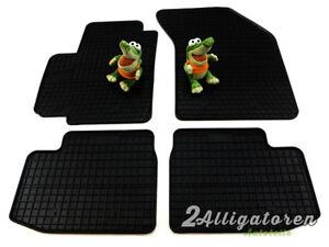 4 x Gummi-Fußmatten ☔ für FIAT Sedici seitdem 2006