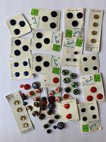 Lot Of Dozens Of Buttons Vintage Le Bouton Le Chic Craft Novelties
