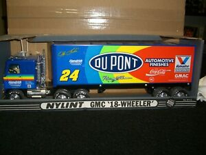 1/24 Nylint GMC 18 Wheeler nascar #24 Dupont Jeff Gordon