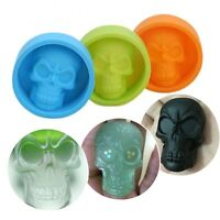 Color Random Cake Chocolate Ice Ball Maker Silicone Mould Skull Mold Halloween