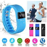 Smart Watch Bracelet Wristband Fitness Tracker Pedometer Sport Sleep Activity