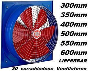 500 mm Absauglüfter Absaugventilator Absauggebläse  Raumlüfter Baulüfter lüfter