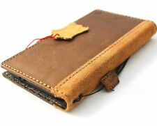 Genuine Vintage Leather Case for Samsung Galaxy S21 Plus Wallet Book Suede soft