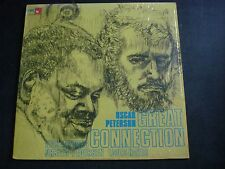 OSCAR PETERSON GREAT CONNECTION LP RECORD