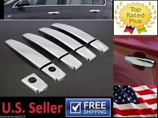 2key Chrome Door Handle Cover Trim Fit CHEVROLET Chevy Cruze Sonic Malibu BUICK