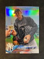 2018 Topps Chrome AARON JUDGE Refractor Image Variation #1  Yankees