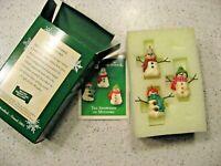 Hallmark Keepsake Ornament The Snowmen of Mitford Miniature Christmas Ornaments