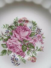 "Edwin Knowles Picardy Saucer 6"" Semi Vitreous China Made in USA"
