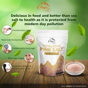 100% Natural Fine/Coarse Himalayan Pink Salt-Pure & Naturally Organic Food Grade