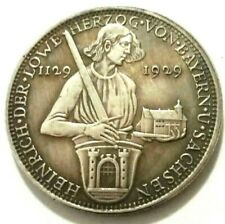 COMMEMORATIVE MEDAL - GERMANY 1129-1929 - SOUVENIR TOKEN MADE OF SILVERED METAL